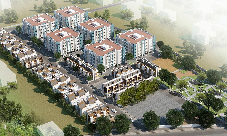 Apartments & Villas-Arihant Nirmaan Enclave-Ranipet