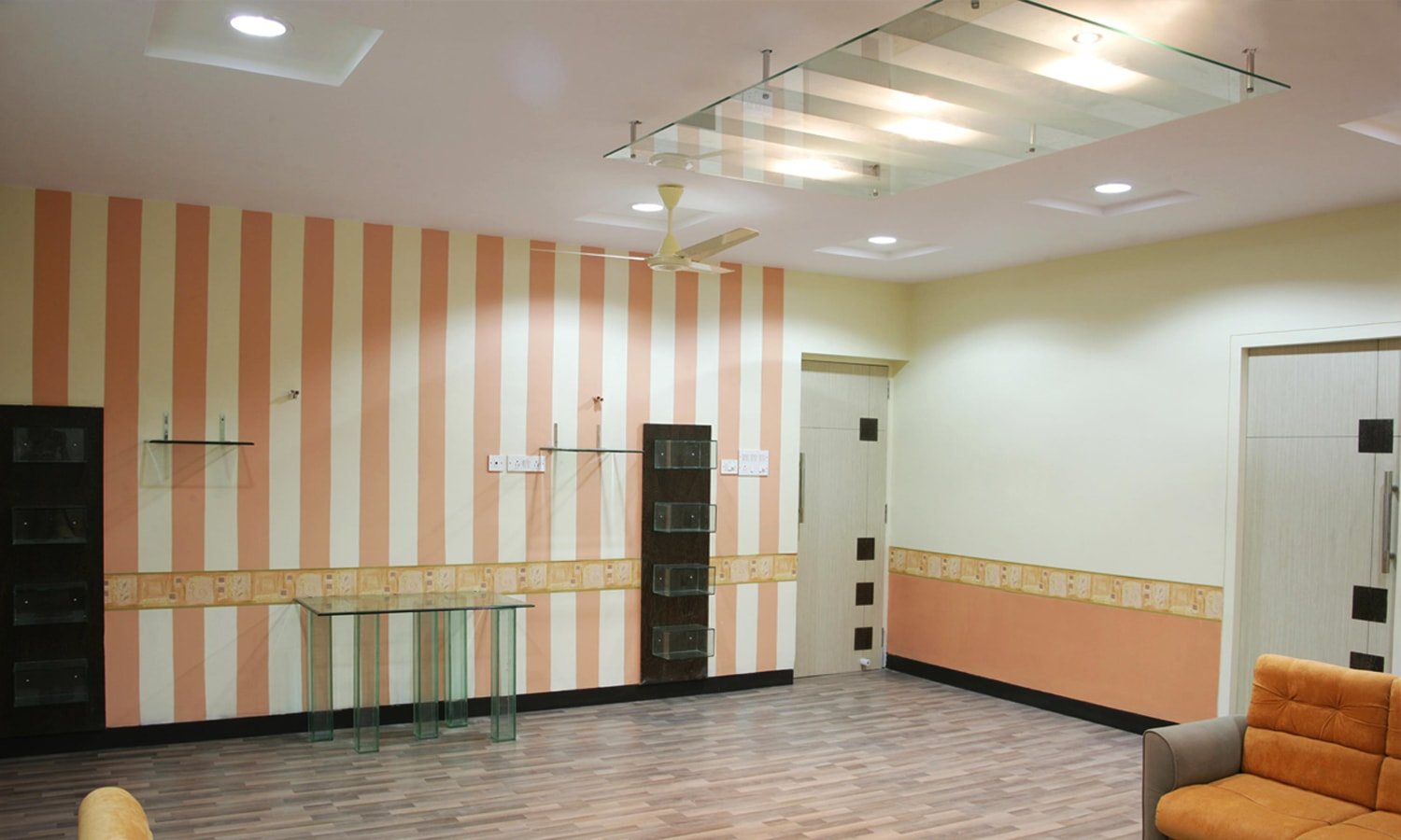 Interiors of Recreation Center-IOB Chennai