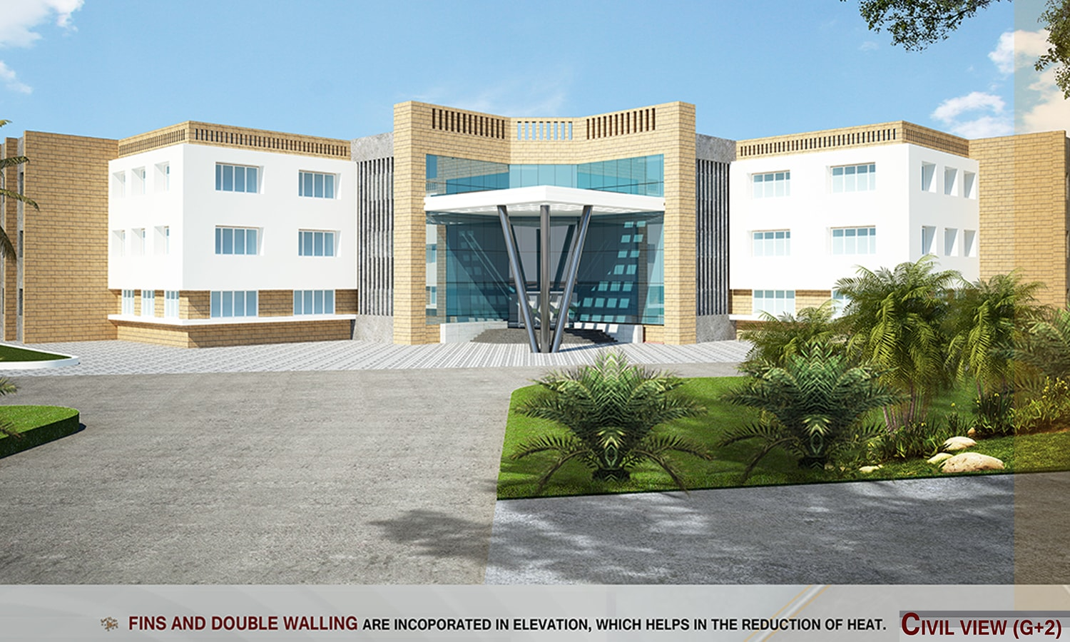 Engineering College Designed for Karnataka Housing Board