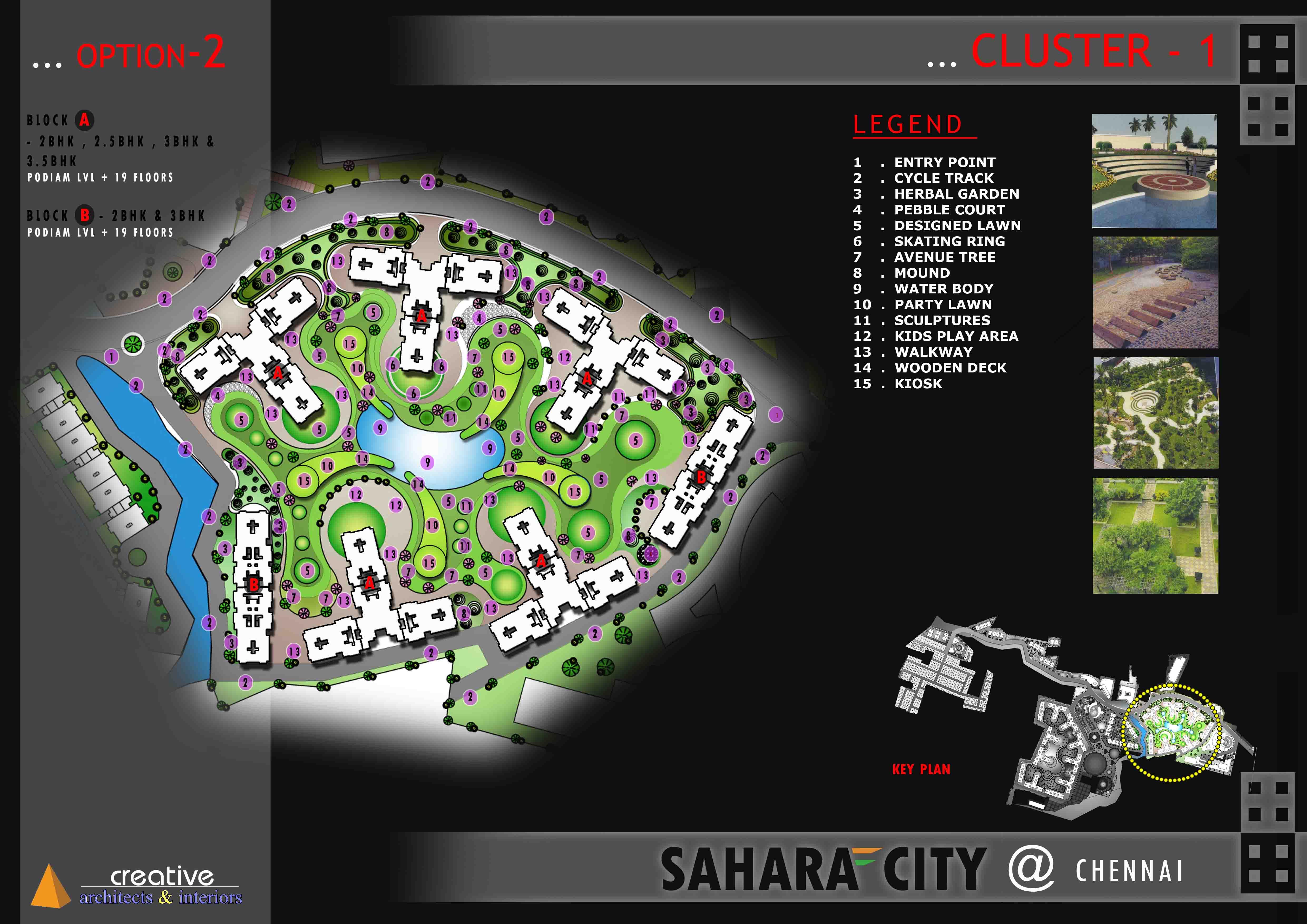 Masterplanning-Sahara City-Chennai