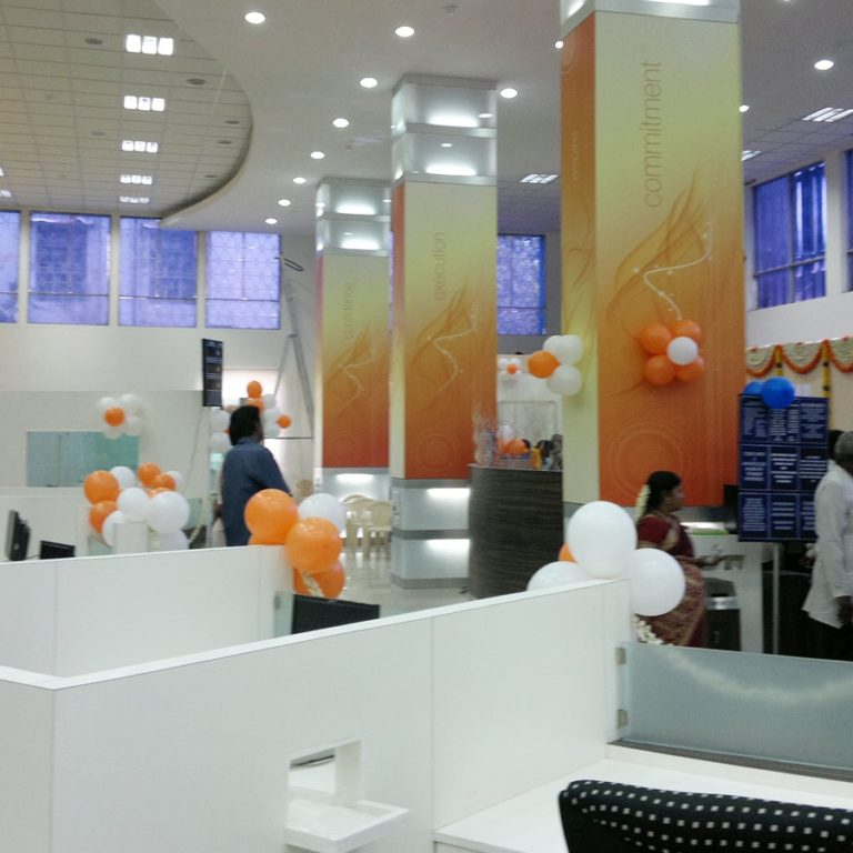 Office Interiors-Indian Bank-Harbour Branch