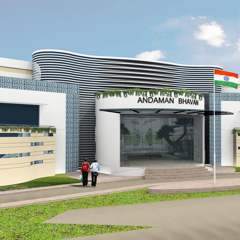 Project designed for Andaman Guest House-Pallikaranai-Chennai