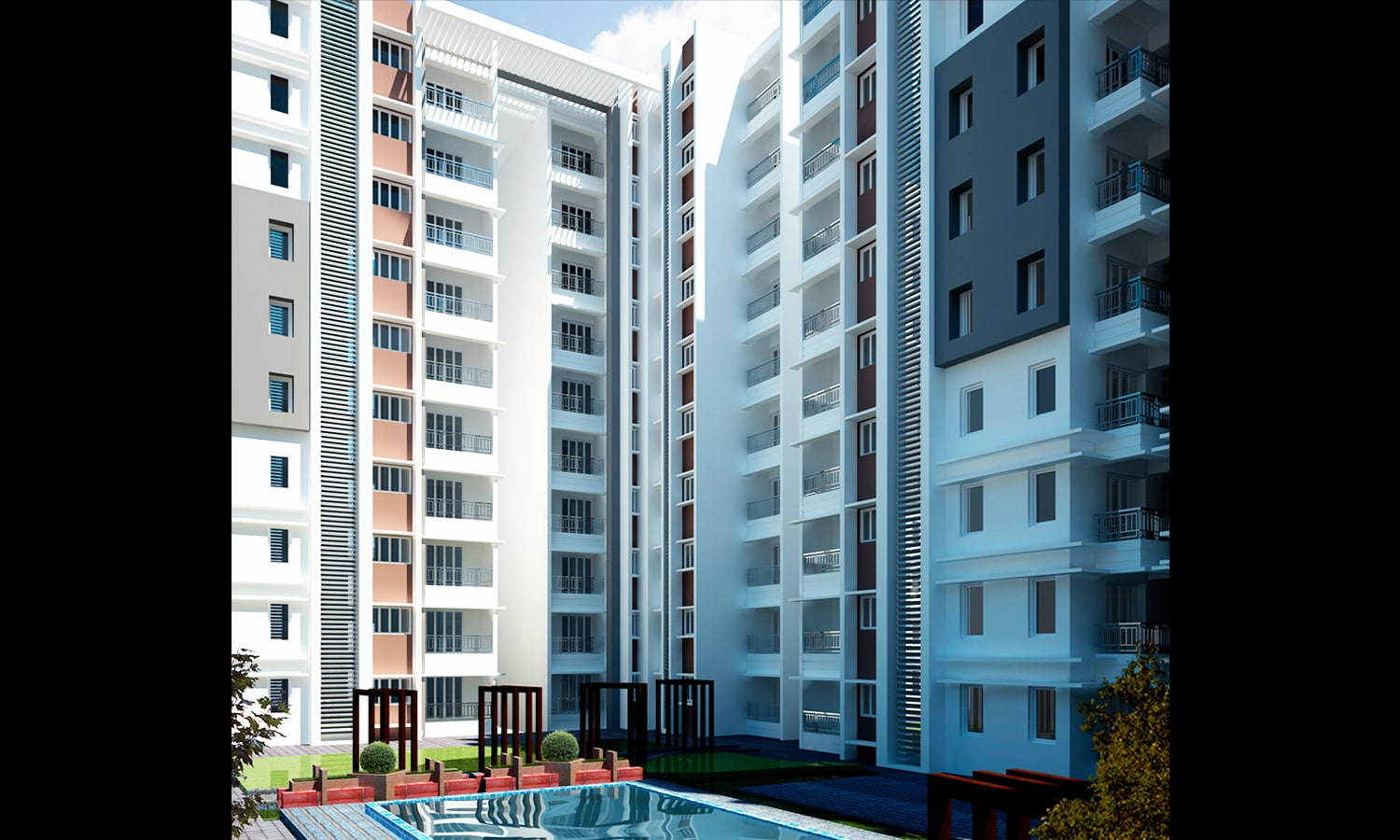 Residential Project Designed for Karnataka Housing Board-Hosur