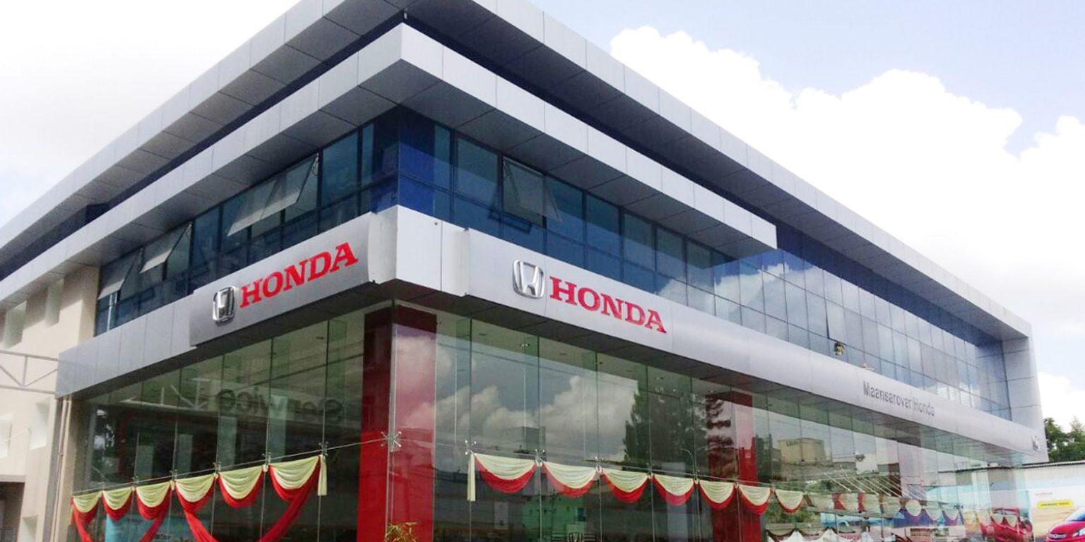 Car Showroom-Manasarovar Honda-Porur-Chennai