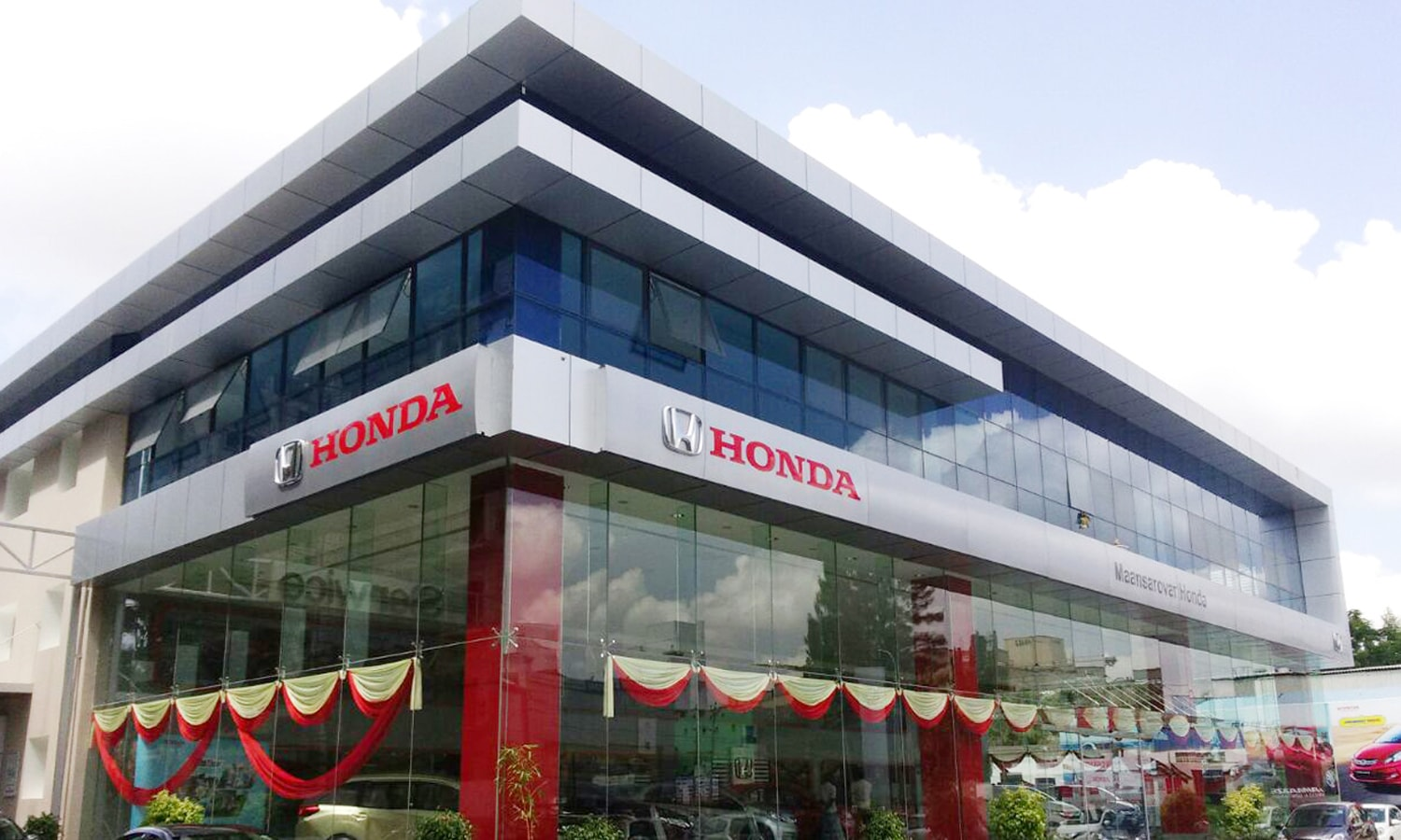 Car Showroom-Manasarovar Honda-Porur-Chennai