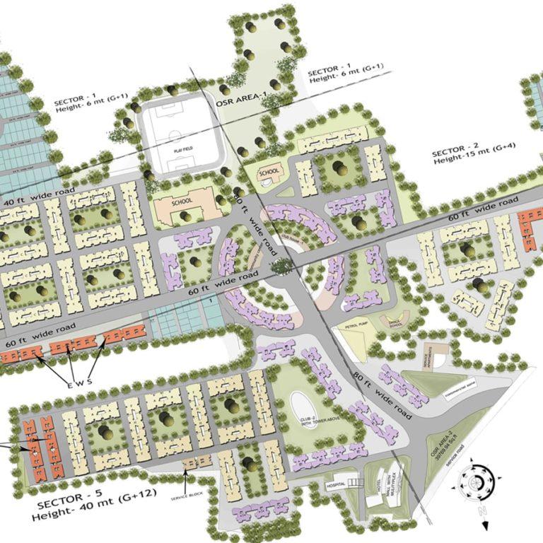 Masterplanning-Sahara City-Madurai