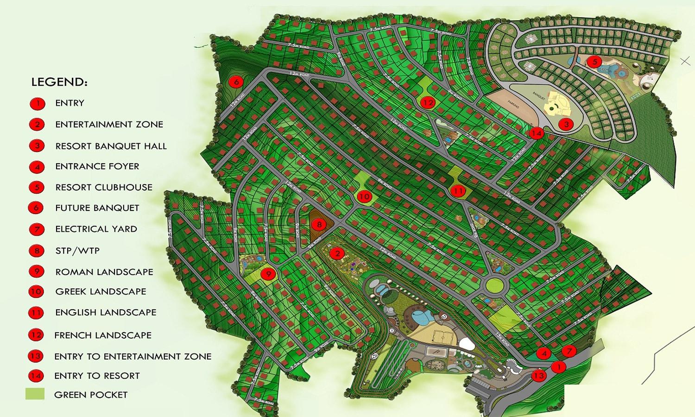 Masterplanning-Kanchan Properties-Jambli-Pune