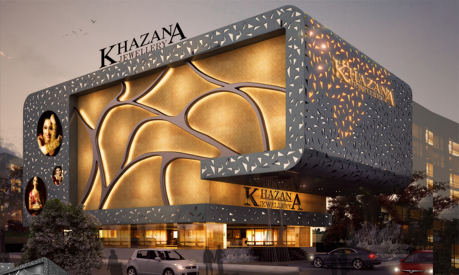 Khazana Jewellery Showroom-Vizag-Andhrapradesh