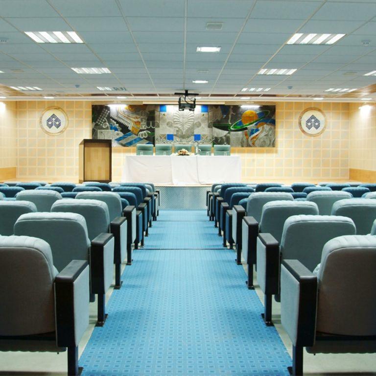 Auditorium Interiors-IOB Chennai