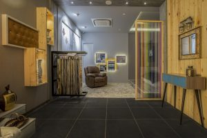 Showroom Interior – Vibrant Furnishing